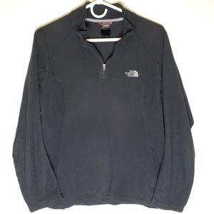 North Face Qtr Zip Pullover Fleece Women's Large